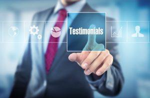 testimonials page