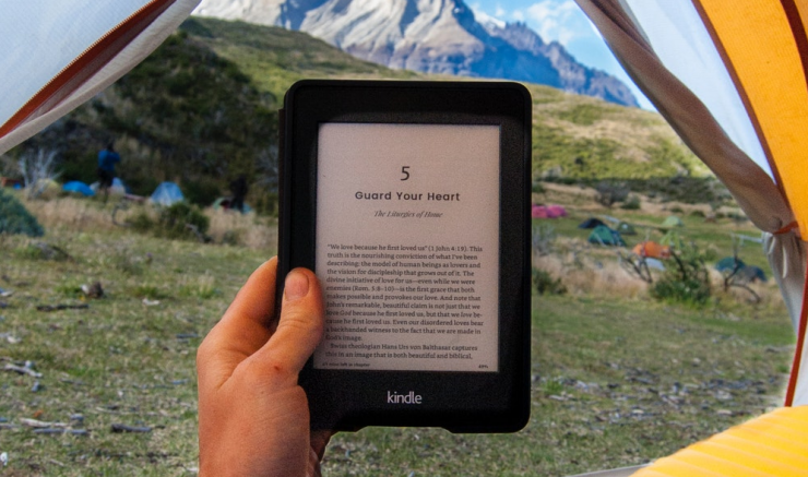ebook on a kindle